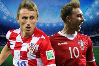 Đội hình ra sân trận Croatia vs Đạn Mạch, 01h ngày 2/7