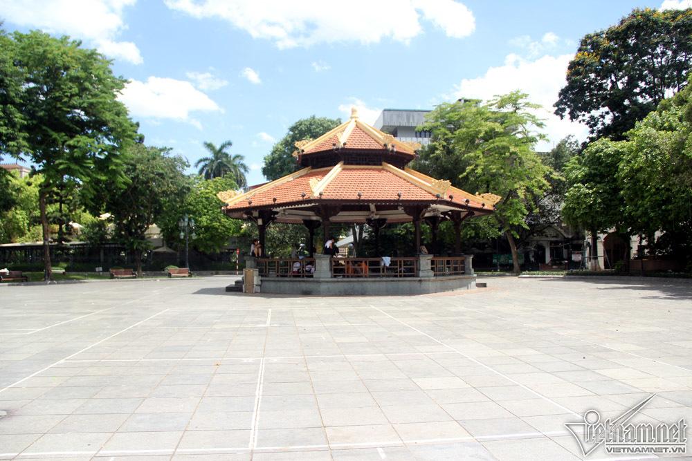 nắng nóng,Hà Nội,hồ Gươm,phố đi bộ