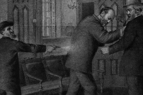 vụ ám sát Tổng thống Mỹ James A. Garfield 2/7/1881