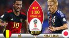 """Kèo Bỉ vs Nhật Bản: Đánh gục """"võ sỹ samurai"""""""