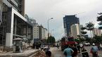 Công nhân bất cẩn làm cháy tầng 3 tòa nhà Cục Viễn thông