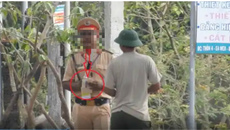 Dân quay clip tố CSGT có 'hành vi lạ', công an khẳng định thiếu cơ sở