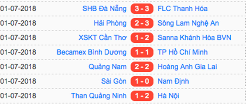 Sài Gòn FC,Nam Định,V-League
