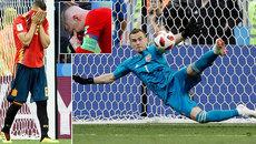 Video bàn thắng Nga 1-1 Tây Ban Nha (pen 4-3)