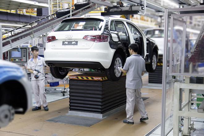 Audi sẽ sản xuất xe tại Trung Quốc