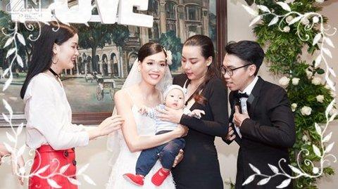 Dàn chân dài ở Vietnam's Next Top All Star 2017 đến dự đám cưới Nguyễn Hợp