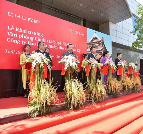 Khai trương văn phòng Chubb Life ở Thái Bình, Thái Nguyên