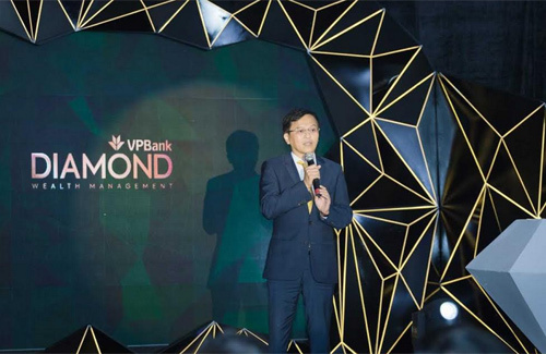 VPBank ra mắt phân khúc khách hàng 'kim cương'