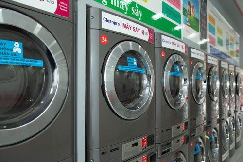 Ưu điểm vượt trội của hệ thống giặt sấy tự động LG