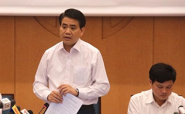 Chủ tịch Hà Nội,Nguyễn Đức Chung,cơ sở dữ liệu dân cư