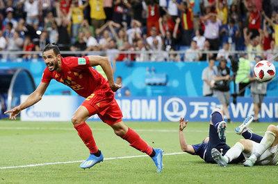Video bàn thắng Bỉ 3-2 Nhật Bản