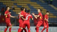 Tuyển Việt Nam dội cơn mưa bàn thắng vào lưới Singapore