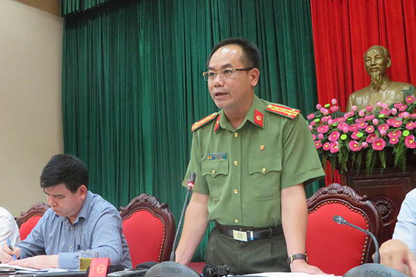 Công an HN thông tin vụ nguyên trưởng thôn tự thiêu trước cổng cơ quan tiếp dân