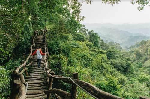 Thiên nhiên đẹp mê hoặc ở Đài Trung