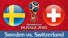 Link xem trực tiếp Thụy Điển vs Thụy Sĩ, 21h ngày 3/7