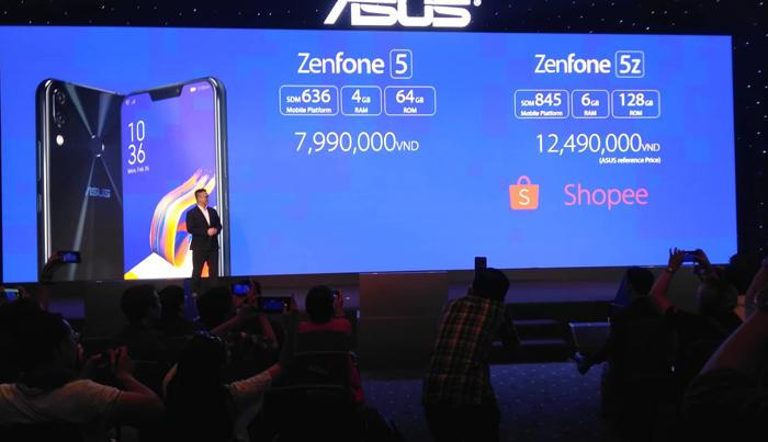 Ra mắt ZenFone 5Z và ZenFone Max Pro: Chip 'khủng', pin 5000mAh
