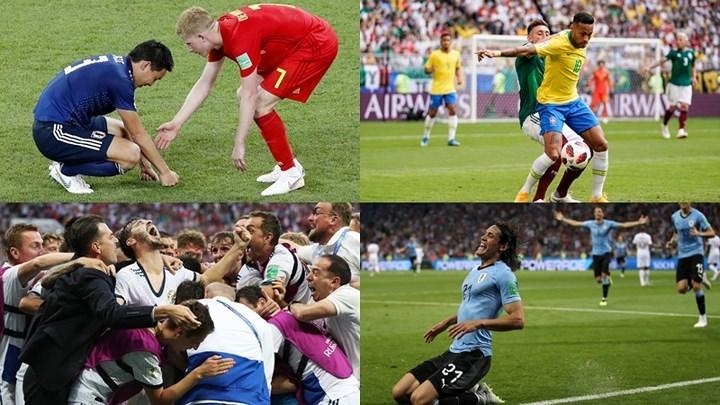 Xác định 4 cặp đấu vòng tứ kết World Cup 2018