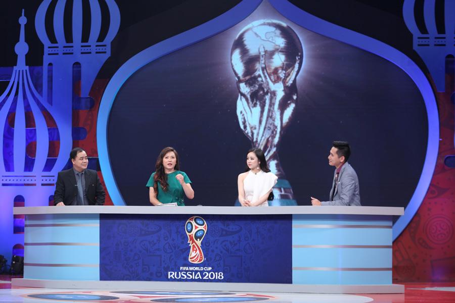 Nhà thơ Vi Thùy Linh: Tôi sẽ làm bình luận World Cup đến cùng với tinh thần cống hiến