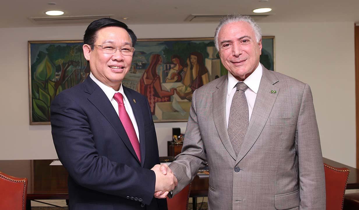 Brazil coi trọng vị thế của Việt Nam tại khu vực Đông Nam Á