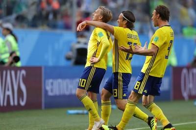 Video bàn thắng Thụy Điển 1-0 Thụy Sĩ