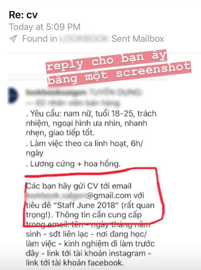 Chủ shop Sài Gòn bức xúc với loạt đơn xin việc cộc lốc, sai nơi tuyển