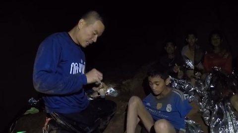 Những hình ảnh mới nhất về đội bóng Thái Lan mắc kẹt trong hang