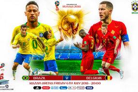 Tứ kết World Cup 2018: 8 đội bóng, 4 chiếc vé, ai sẽ thắng?