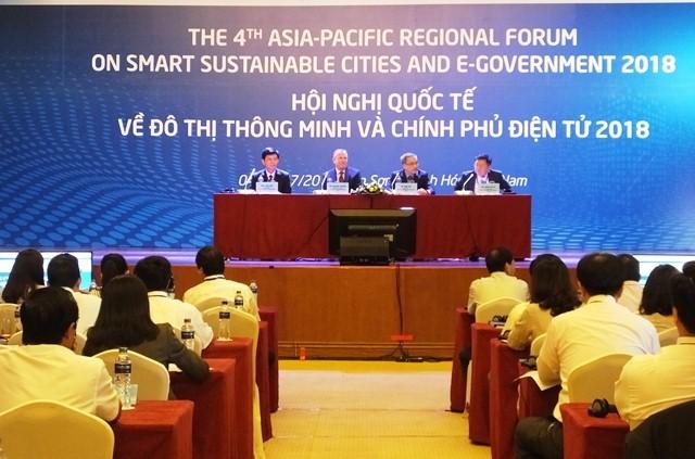 Khai mạc hội nghị quốc tế về đô thị thông minh và Chính phủ điện tử