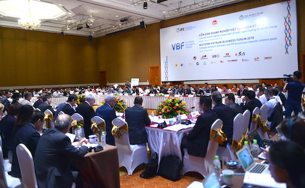 VBF 2018,môi trường kinh doanh,cải cách,doanh nghiệp FDI,Diễn đàn Doanh nghiệp Việt Nam