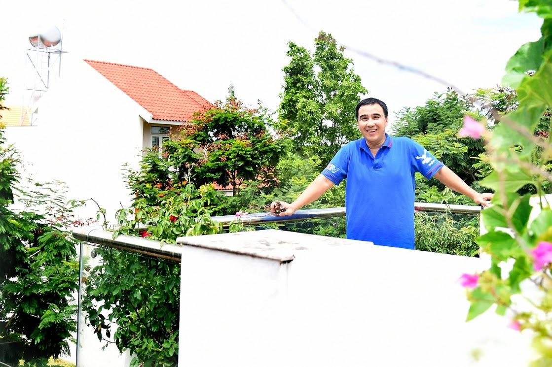 MC Quyền Linh, biệt thự nhà vườn của MC Quyền Linh, nhà sao việt
