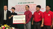 Các tổ chức TQ ủng hộ người dân miền núi phía Bắc gần 4 tỷ đồng