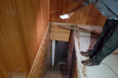Hầm trú ẩn của trùm ma túy Nguyễn Văn Thuận trong ngôi nhà kỳ lạ