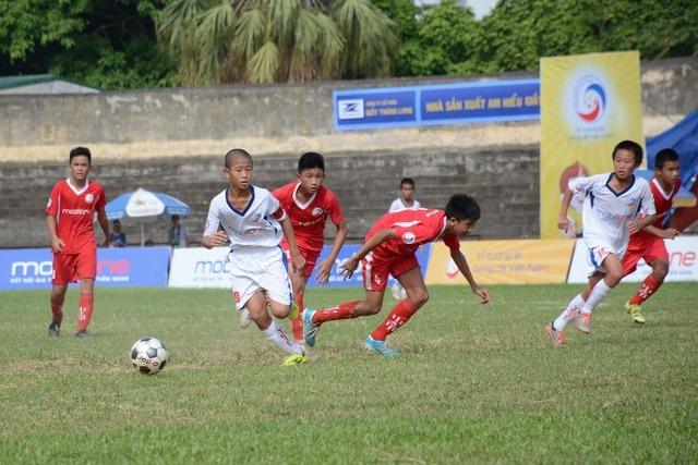 12 đội dự VCK giải bóng đá thiếu niên toàn quốc 2018