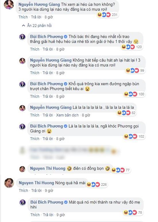 Mẹ Bích Phương mắng con gái và Hương Giang Idol vì quá 'lầy lội'