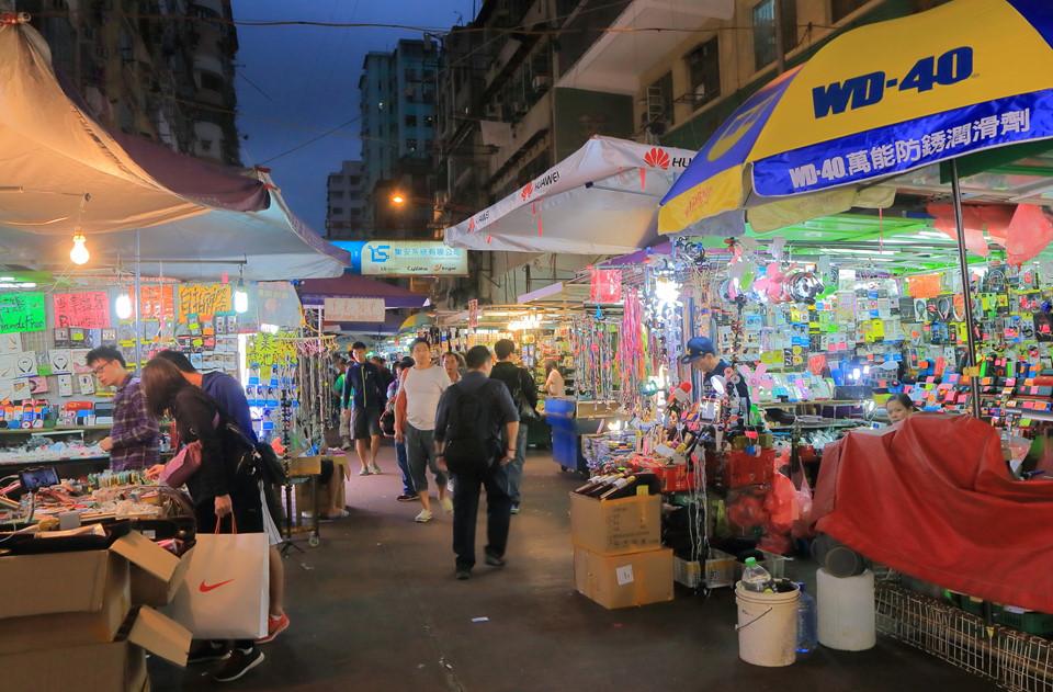 10 khu chợ đường phố nổi tiếng ở Hong Kong