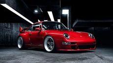 Cận cảnh xe độ Porsche 911 993