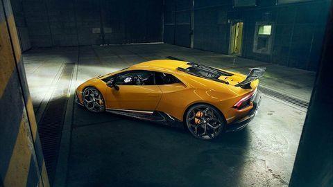 Chiêm ngưỡng xe độ Lamborghini Huracan Performante của Novitec