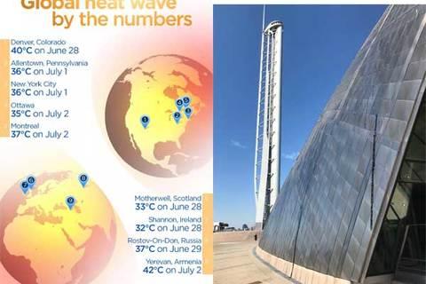 Nắng nóng thiêu đốt nhiều nơi trên thế giới