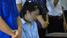 Bóng hồng Eximbank bật khóc khi bị đề nghị án chung thân