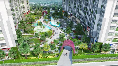 Imperia Sky Garden gây sốt nhờ chính sách bán hàng