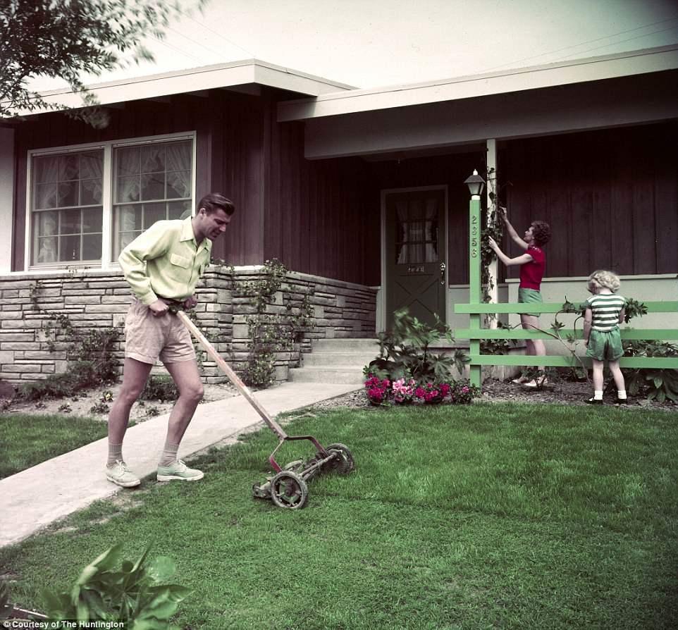 Cuộc sống ngoại ô yên bình của người dân Mỹ những năm 1950