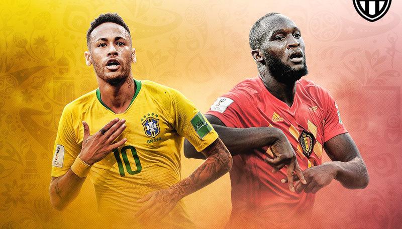Kèo 'thơm' Brazil vs Bỉ: Chốt mạnh cửa trên