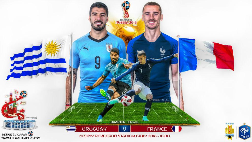 Pháp vs Uruguay: Công cường gặp thủ vững