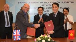 Ưu tiên thúc đẩy liên kết đào tạo với đại học Anh