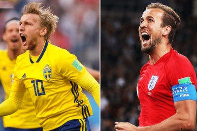 Kịch bản Thụy Điển vs Anh: Vận may gọi tên Tam sư