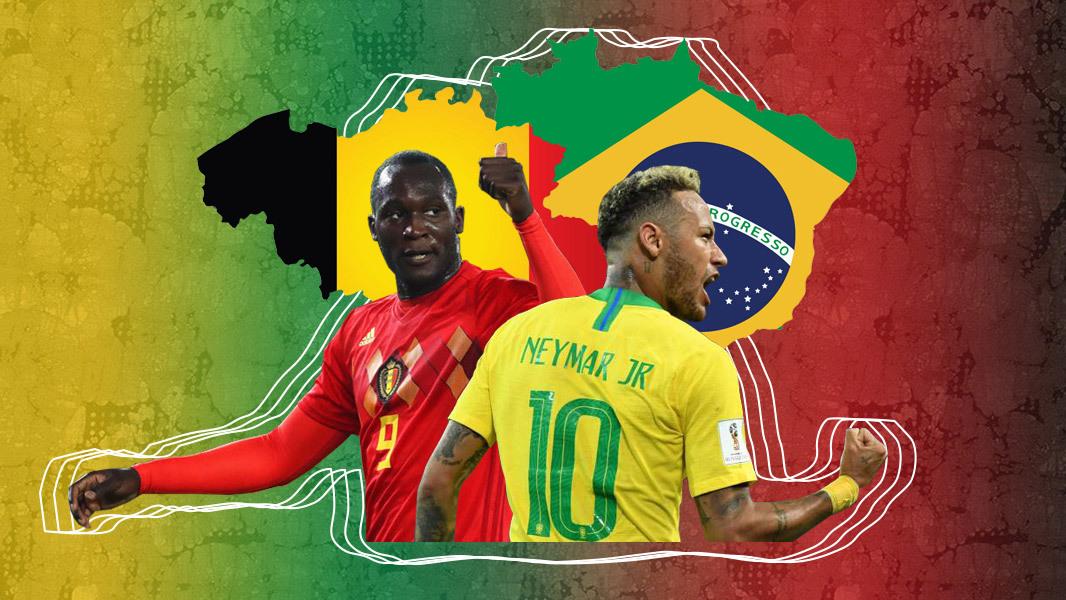 Brazil vs Bỉ: Samba khiêu vũ giữa bầy Quỷ đỏ