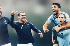 """Kèo Uruguay vs Pháp: Đá bay """"gà trống Gaulois"""""""