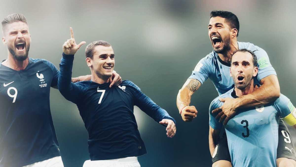 Pháp,Uruguay,Uruguay vs Pháp,nhận định bóng đá,kèo bóng đá,vòng tứ kết World Cup