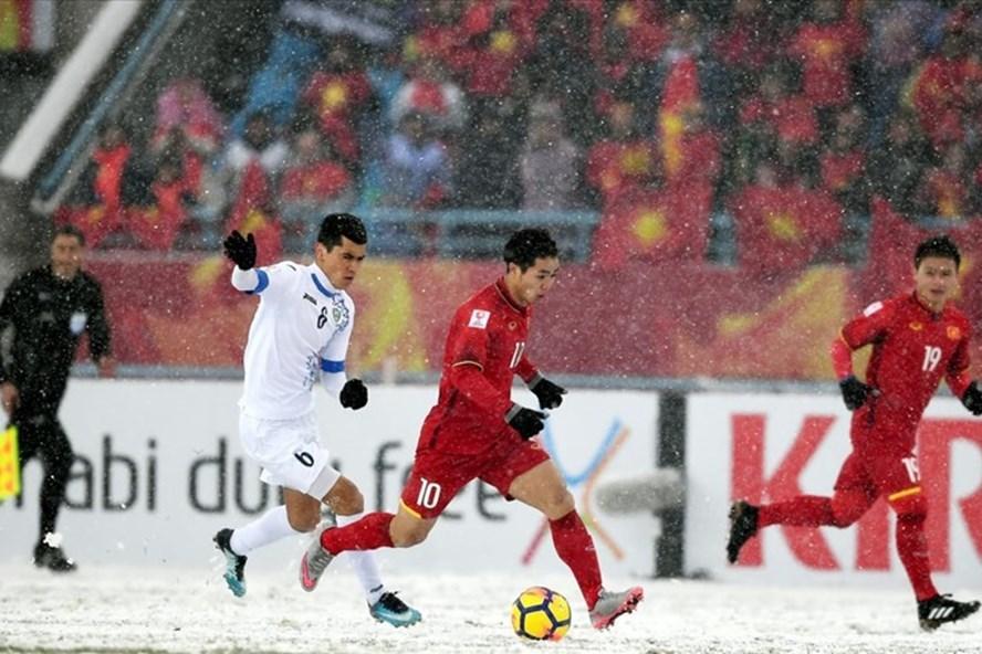 Tái hiện trận chung kết U23 châu Á ở Mỹ Đình