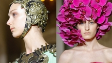 Valentino hoạ lên bức tranh nữ thần tráng lệ đến mê hoặc